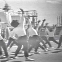 Seeds of rebellion: People dance to a piece by avant-garde composer Yuji Takahashi in the 1962 NHK TV docu-drama by Yotaro Konaka titled, 'Shochu to Gomu'('Shochu Liquor and Rubber').