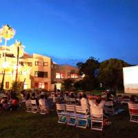 Resort offers movie night under the stars