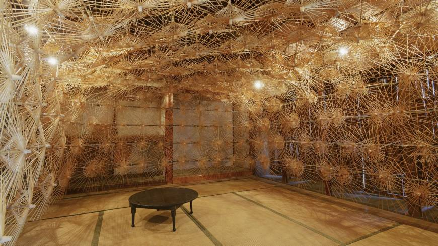Takashi Nishibori's 'Corridor of Time' on the island of Ojima