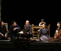 From page to stage: Owlspot's Anton Chekhov program kicked off in April with a production based on various of his short novels. | © JUN ISHIKAWA