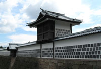 Part of reconstructed Kanazawa Castle