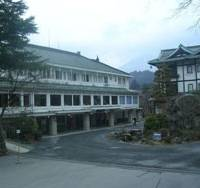Pale beauty: Nikko Kanaya Hotel's main building (left) and annex. | BURRITT SABIN