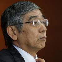 Nation can weather April tax hike: Kuroda