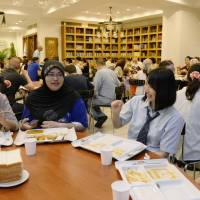 Free meals help mosque show Islam to Japan