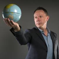 oo many people: 'Unless we humans change radically, population growth will make a hellhole of Earth,' says Stephen Emmott, author of the book 'Ten Billion' and head of Microsoft's computational research lab. | RICHARD SAKER/THE OBSERVER