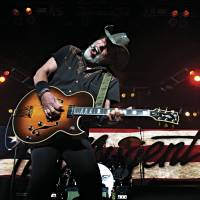 Rocking out: Ted Nugent performs in Roanoke, Virginia, on April 28 during a tour with Styx and REO Speedwagon. | THE WASHINGTON POST