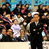 Big changes to come: Head coach Honoo Hamaguchi and the Kyoto Hannaryz will jump ship to the National Basketball League for the 2014-15 season.  | HIROAKI HAYASHI