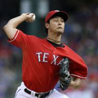 Second time around: Rangers pitcher Yu Darvish is on the AL All-Star team for the second consecutive season. | AP
