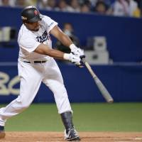 Luna hit sees off Giants as Dragons complete sweep