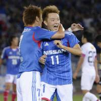 Marinos oust champion Antlers from Nabisco Cup