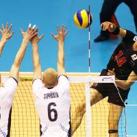 Key contributor: Tatsuya Fukuzawa is Japan's points leader during 2013 FIVB World League action. Japan plays host to Group C foe Canada on Saturday and Sunday in Osaka. | FIVB