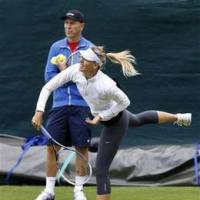 Sharapova, coach decide to part ways