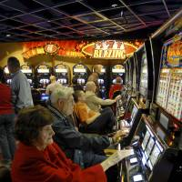 'Winning' noises from slot machines spur gamblers