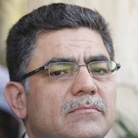 Resigned: The Syrian National Coalition's interim prime minister for rebel-held territory, Ghassan Hitto, quit his post Monday. | AFP-JIJI