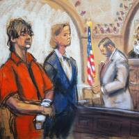 Accused in Boston terrorist bombing pleads not guilty