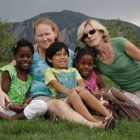 Worth defending: Same-sex spouses Cathy Davis (second from left) and Catriona Dowling pose with their children in Boulder, Colorado. State officials across the U.S. are balking at defending laws on gay marriage, immigration and other socially divisive issues, arguing they are unconstitutional. | AP