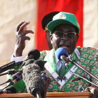 Succession questions loom amid Mugabe re-election bid