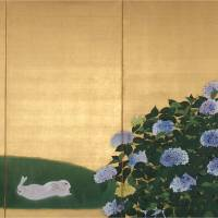 'Hayami Gyoshu and the Elite of the Japan Art Institute'
