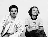 Downtown (Hitoshi Matsumoto (left) and Masatoshi Hamada) is the highest paid comedy act in Japan.