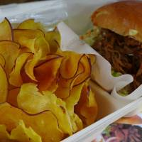Southern grills: Carolina pulled pork at Bulldog Barbeque. | REBECCA MILNER