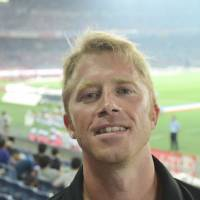 Trent Anderson, University teacher, 38 (American): I would definitely drink a lot of Japanese sake, eat a lot, particularly Kobe beef, and also go and watch a J.League soccer game in Yokohama — all with my lovely wife, of course. After that I think we would end the night in a love hotel!
