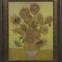 Close second: A Relievo reproduction of 'Sunflowers' by Vincent van Gogh. | VAN GOGH MUSEUM, AMSTERDAM