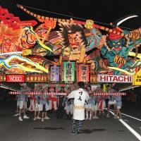 Fantasy goes on display at Nebuta Festival