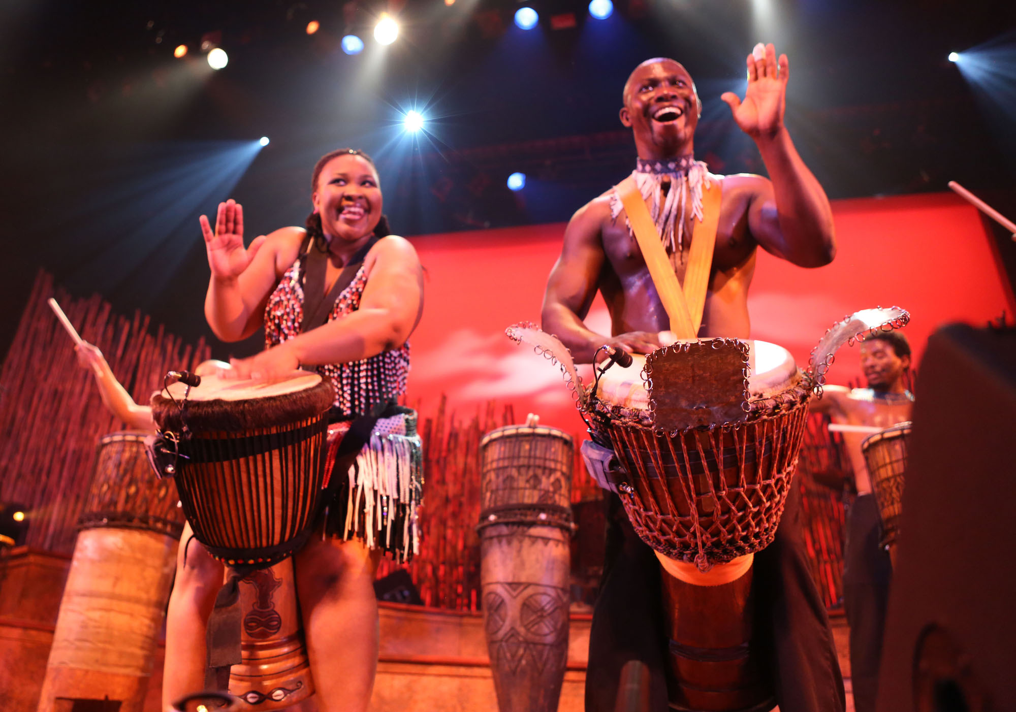National Percussion Group Of Kenya - Roots!! African Drums