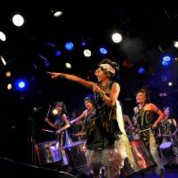 Samba power: The all-female samba-percussion group Banda Girassol will play the Brasil Culture Festival.
