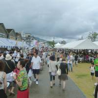 Local fare on menu at Oita fest