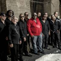 Crowded house: Havana D'Primera, a 14-member salsa-music band from Cuba, will play Latin Music Festival 'Animate!'