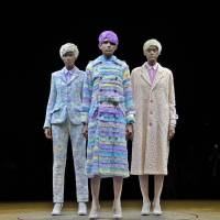 Color-changing fashion, Hedi Slimane's first Saint Laurent collection, 99%IS' unusual 'macs' and newcomers to Harajuku