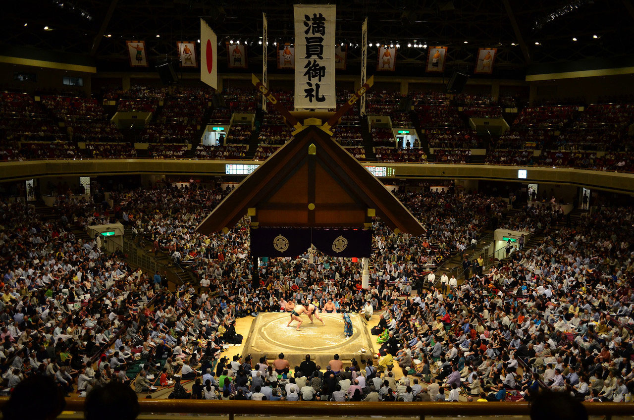 A big day out at the sumo | The Japan Times