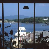 Sights to see: A view from the Ryokan Ishiyama-so on the tiny island of Yokoyama in Ago Bay. | STEPHEN MANSFIELD PHOTO