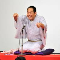 'Rakugo' star spins his tales in English