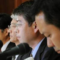 Three Fujita workers back on home ground