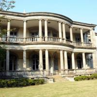 Tycoon's mansion now campus landmark