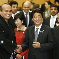 Abe hosts 'iftar' dinner party for Muslim nations