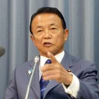 Aso refuses to resign, retire over Nazi gaffe
