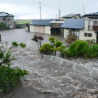 Tohoku flooding leaves one dead