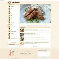 Real meals: A screen shot of the Cookpad website shows a recipe in English. | COOKPAD INC.