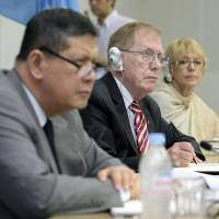 U.N. mission hears from kin of North Korea's abduction victims