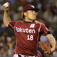Eagles' Tanaka sets NPB record by winning 21st straight decision