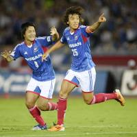 Yokohama back on top of J. League table