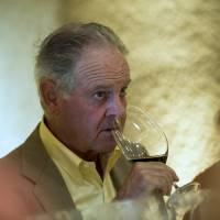The nose knows: A vintner gets his schnoz into a glass of wine in Napa, California, on Monday. | BLOOMBERG