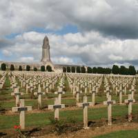 Lest we forget: France's Douaumont Ossuary, dedicated to the 230,000 men who lost their lives at the Battle of Verdun (Feb. 21 to Dec. 19, 1916). | JEAN-POL GRANDMONT