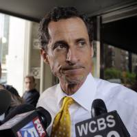 Oops, I did it again: New York mayoral candidate Anthony Weiner, who resigned from the U.S. Congress in 2011 in the wake of a sex scandal, admitted at a July 24 press conference to sending sexually explicit text messages as recently as last summer. | AP