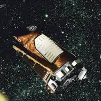 Hobbled space telescope:  An illustration provided by NASA depicts the Kepler telescope. | AP