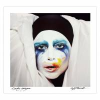 Warholian expedition: The cover of 'Applause,' Lady Gaga's latest single. | BLOOMBERG