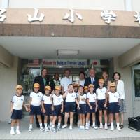 People-to-people exchanges: Mutsumi Katayama (far right) has annually organized